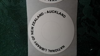 National Library of New Zealand Auckland  DVD labels